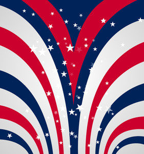 4th Of July Abstract Background