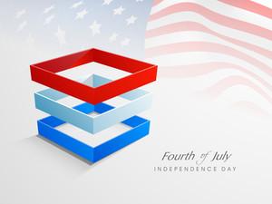 4. Juli American Independence Day Celebrations-Konzept.
