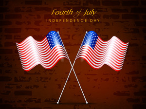 4th Of July American Independence Day Celebrazioni Concept.