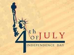 4. Juli Amerikanische Unabhängigkeitstag Flyer