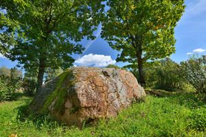 An Ancient Spiritual Stone Of Baltic Tribes