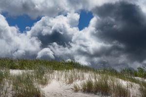 Sand Dunes In Ventspils