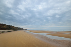Omaha Beach In Normandy