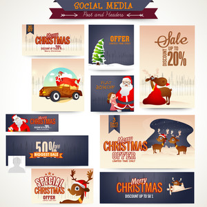 Sale social media ads