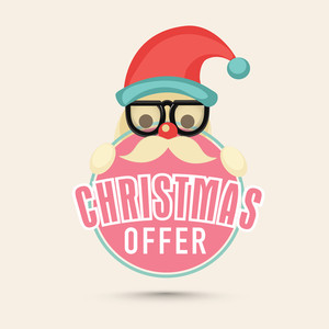 Christmas Offer Sticker