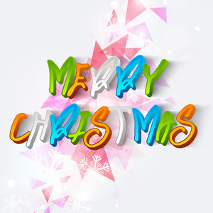 Merry Christmas celebration poster