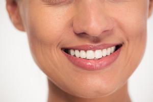 Smiling female face