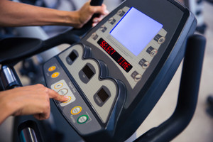 Interface of fitness machine