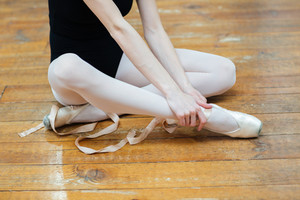 Ballerina having pain in ankle