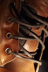 Lacing shoe.