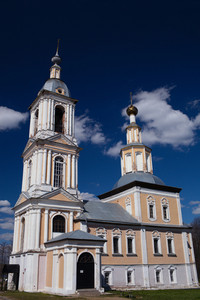 Church of kazan mother of god in uglich