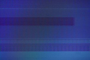 Abstract blue computer background texture pattern