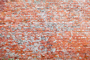 Red brick dirty background