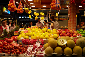Fruit and vegetables market