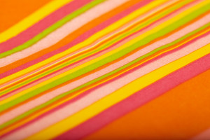 Color napkin background