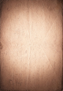 Vintage paper with vignette and light spot in the center  brown color  vertical orient