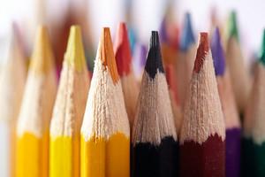 Pencils  macro  artist's stuff