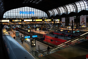 Hamburg railway station