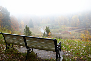 Bench at the hill