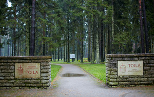 Cemetery of german soldiers in toila