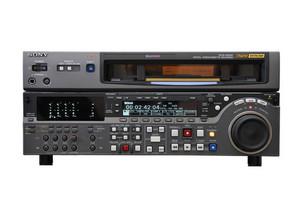 Digital betacam recorder isolated
