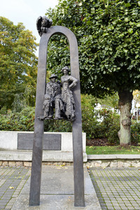 Sculpture in jurmala.