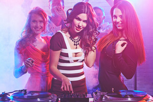 Cool Girl By Deejay Equipment And Company Of Friends
