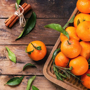 Tangerines With Cinnamon