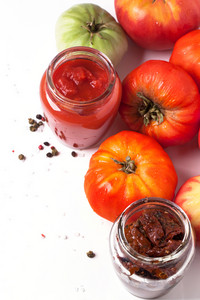 Tomatoes With Jars