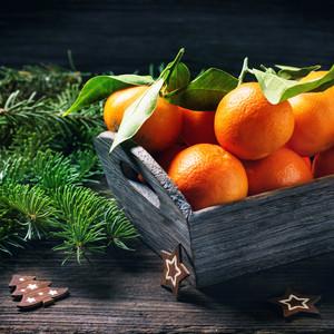 Christmas Tangerines