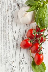 Cherry Tomatoes With Garlic