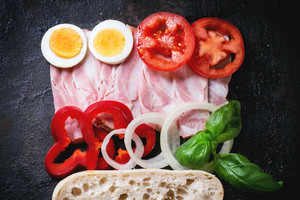 Ingredients For Sandwich