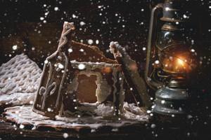 Broken Gingerbread House