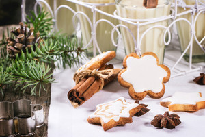 Christmas Cookies And Cocktail