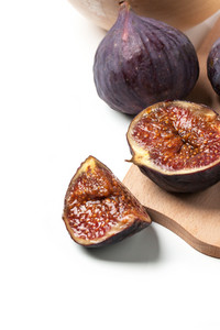 Slised And Whole Figs