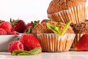 Muffins With Berries