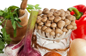 Mushrooms And Vegetables