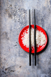 Rice With Chopsticks