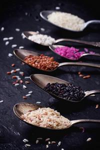 Set Of Unusual Rice