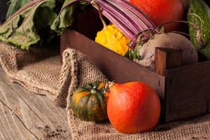 Pumpkins And Beet