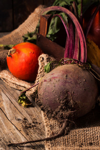 Pumpkins And Beetroot