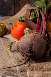 Pumpkins And Beet