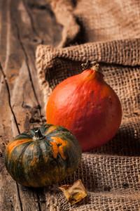 Tow Mini Pumpkins
