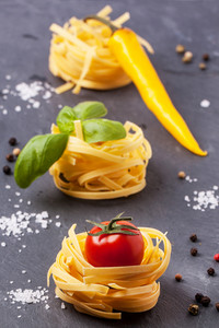 Dry Pasta With Tomatoes