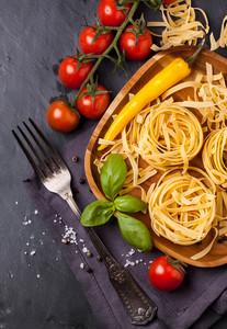 Dry Pasta With Tomato