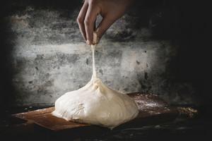 Man Pulls The Dough