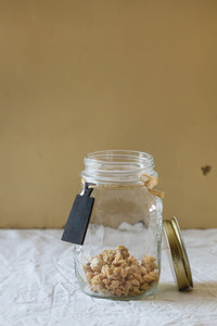Granola In The Jar