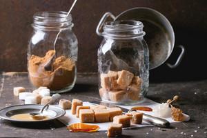 Fudge Candy And Caramel Sause