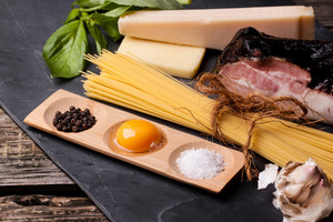 Ingredients For Spaghetti Alla Carbonara