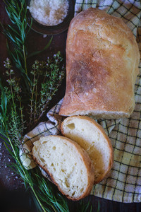 Fresh Baked Ciabatta Bread